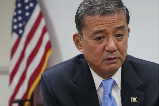 Veterans Affairs Secretary Eric Shinseki has resigned amid a scandal over delayed care and falsified records at the agency's hospitals