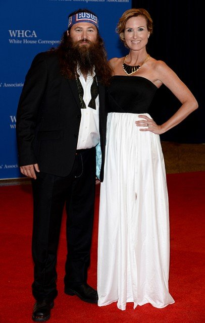 Willie and Korie Robertson returned to Washington, D.C., on Saturday for this year's White House Correspondents' Dinner