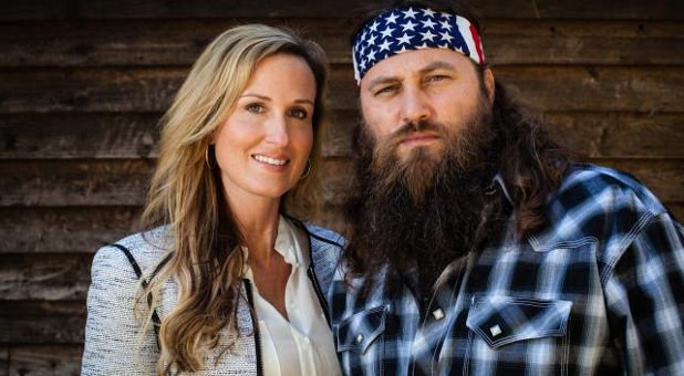 'Duck Dynasty' stars Willie and Korie Robertson. Photo: A&E Network