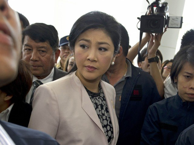 Yingluck Shinawatra could be removed from office and banned from politics for five years if found guilty of abuse of power