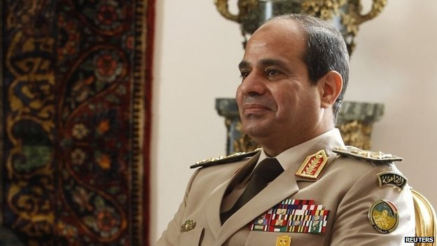 Abdul Fattah al-Sisi has been declared the winner of last week's presidential election in Egypt