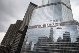 Donald Trump built the Trump International Hotel and Tower six years ago to replace an ageing Chicago Sun-Times building with its own sign