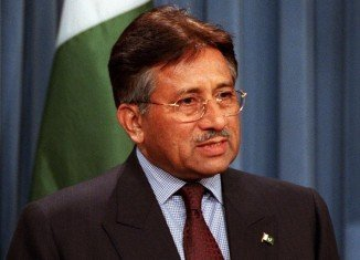 Former Pakistani leader Pervez Musharraf is currently on trial for treason