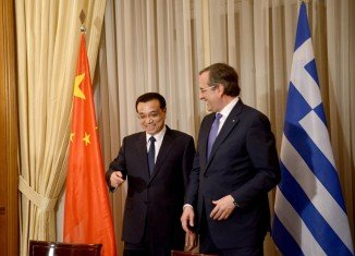 Greece and China have signed business deals worth about $5 billion during Chinese PM Li Keqiang's visit