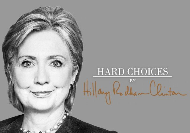 Hillary Clinton launched new book Hard Choices
