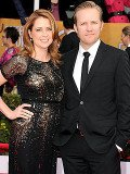 Jenna Fischer and her husband Lee Kirk