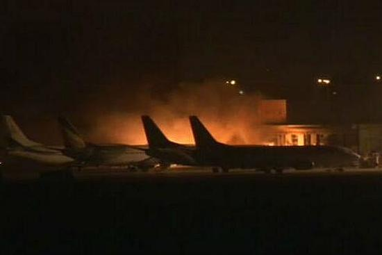 Jinnah international airport in Karachi has resumed operations after an assault by Pakistani Taliban which left 28 people, including all 10 attackers, dead