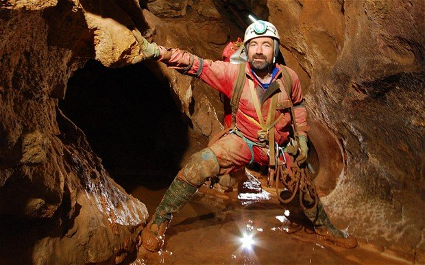 Johann Westhauser was badly hurt in a rock fall on June 8 while exploring Germany's deepest cave