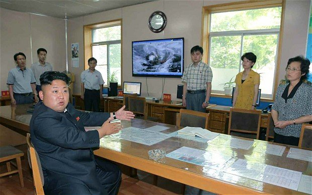 Kim Jong-un has blasted North Korea's weather service for incorrect forecasts