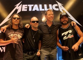 Metallica is the first metal band to headline Glastonbury festival