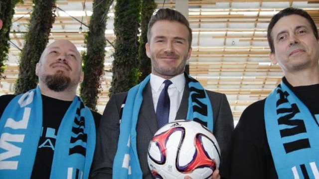 Miami has rejected David Beckham's plan to build a soccer stadium on a city waterfront