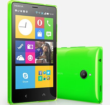 Microsoft is launching its first phone, Android-powered handset Nokia X2