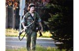 Moncton remains on lockdown as Canadian authorities hunt for suspect Justin Bourque