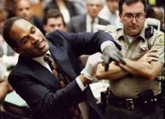 O.J. Simpson murder trial evidence has been unveiled after 20 years