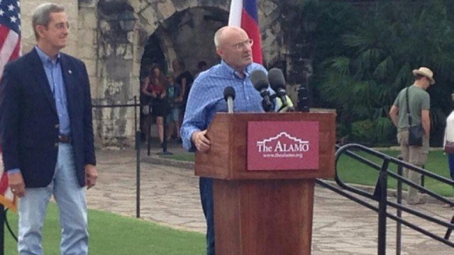 Phil Collins has donated his extensive collection of Alamo memorabilia to the Battle of the Alamo historic site in San Antonio