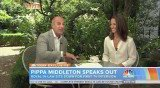 Pippa Middleton gave her first ever sit-down TV interview with Today Show's Matt Lauer
