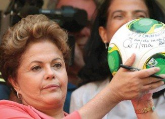 President Dilma Rousseff says Brazil is ready for the football World Cup 2014
