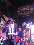 Si Robertson stopped by Big Smo on A&E's Whiskey Bent Saloon at CMA Country Music Association's CMA Festival in Nashville