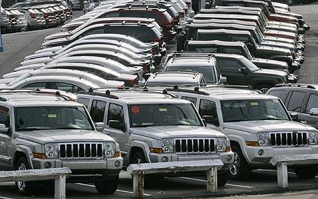 The American carmakers reported strong sales figures for May 2014