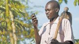 The Central African Republic has banned the use of mobile phone text messages