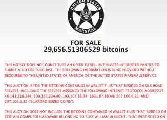The US government will auction $18 million worth of the virtual currency Bitcoin seized by the FBI when it shut down the Silk Road