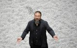 The launch event for The Space at Tate Modern featured a video message from Ai Weiwei from his studio in Beijing