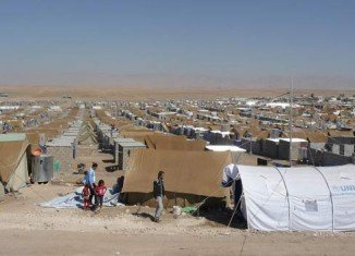 The number of people forced to flee their homes because of war or persecution exceeded 50 million in 2013, the first time since World War Two