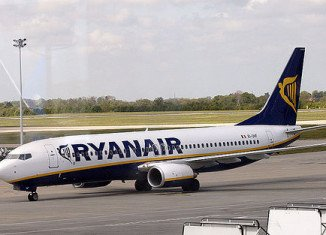 Two Ryanair jets collided on the ground at London's Stansted Airport