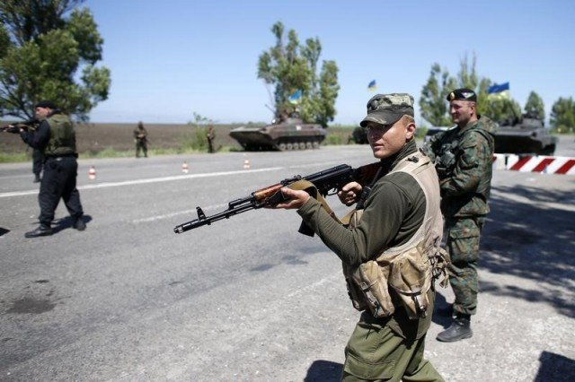 Ukraine's troops have won back the port city of Mariupol from pro-Russian separatist rebels after heavy fighting