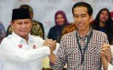Both candidates, Prabowo Subianto and Joko Wid