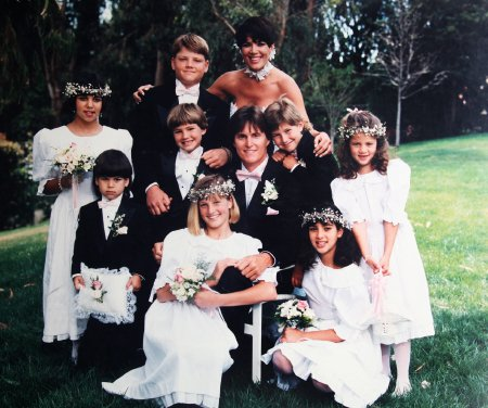Bruce Jenner is a stepfather for the Kardashian kids and has two children with Kris Jenner photo