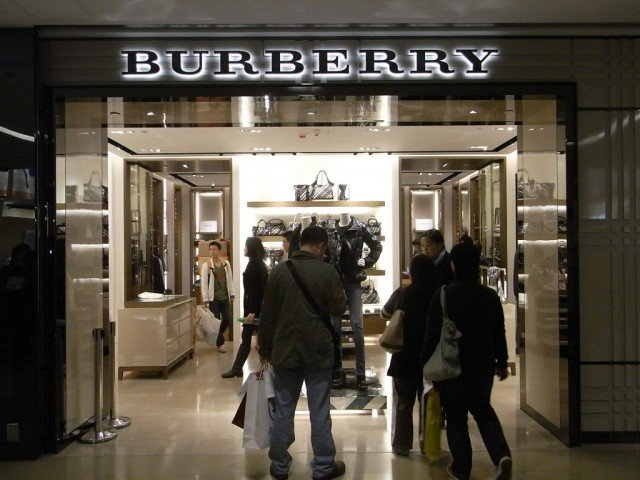 Burberry has announced a strong rise in sales but warned that profits could be hit by unfavorable exchange rates