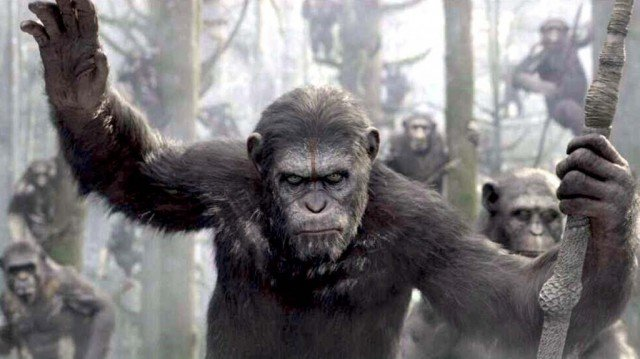 Dawn of the Planet of the Apes has topped the North American box office taking $73 million in its opening weekend