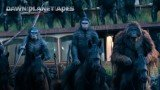 Dawn of the Planet of the Apes has topped the box office in the US and Canada for a second week running