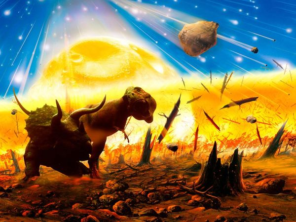 essays extinction of dinosaurs asteroid theory