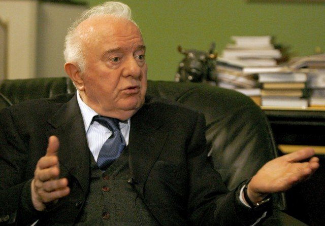 Eduard Shevardnadze passed away at 86 after a long illness