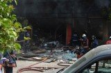 Eight people have been injured in Istanbul after a gas explosion in a five-story building