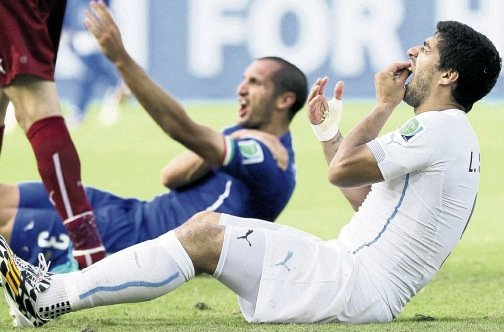 FIFA rejects Luis Suarez's appeal against bite ban
