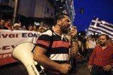 Greek public sector workers have begun a 24-hour strike to protest against continuing cuts in government spending