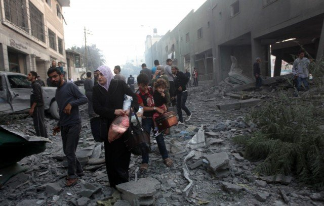 Israel and Hamas have agreed on a 12 hour humanitarian ceasefire in Gaza 640x408 photo