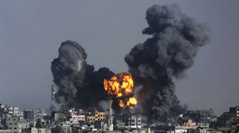 Israel has rejected a Gaza ceasefire proposal put forward by US Secretary of State John Kerr photo