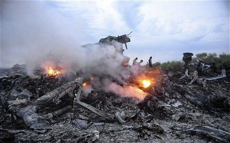 Malaysia Airlines plane crashed in rebel-held Ukraine, killing all 298 people on board