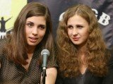 Maria Alyokhina and Nadezhda Tolokonnikova are suing the Russian government over their imprisonment for a protest in a Moscow cathedral