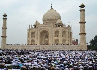 Muslims across the world celebrate Eid al-Fitr after the month-long fast of Ramadan comes to a close.