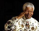 Nelson Mandela became South Africa's first black president in 1994 and stepped down in 1999