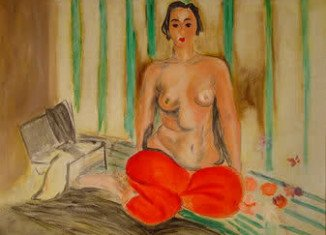 Odalisque in Red Pants was recovered in Miami Beach in an undercover operation two years ago