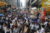 Over 500 protesters have been arrested during Hong Kong annual rally