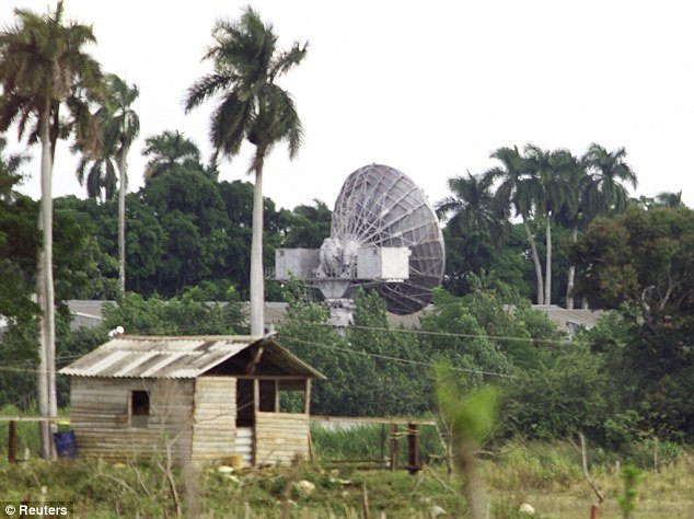 The Lourdes base near Havana was used by the Soviets to spy on the US during the Cold War