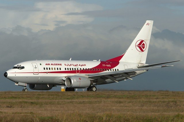 The contact with Air Algerie AH 5017 was lost about 50 minutes after take-off from Ouagadougou, Burkina Faso