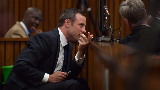 The video showing Oscar Pistorius re-enacting the events of the night he killed Reeva Sttenkamp was aired by Channel 7 in Australia